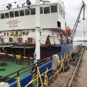 Ремонт судна «М.Хачепуридзе»