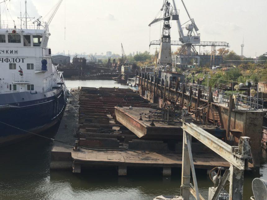 Завершен ремонт Парома-41